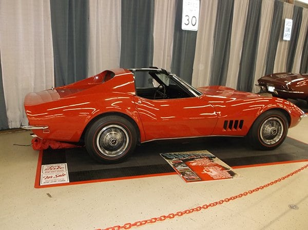 1968 Corvette 327/350 HP L79 owned by Thomas Elias Sugar
