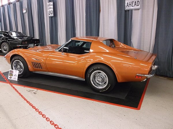 1971 Corvette 454/425 HP LS6 owned by Linda Strohm-Dunlap