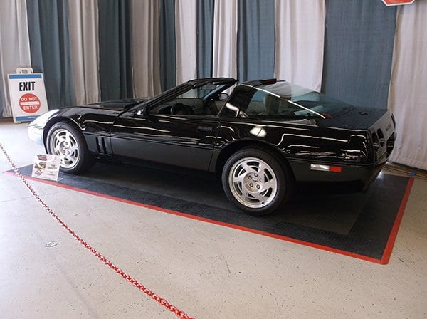 1990 Corvette ZR1 S/N 00019 owned by Rick Hendrick
