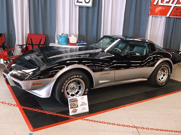 1978 Corvette Pace Car owned by David Goss