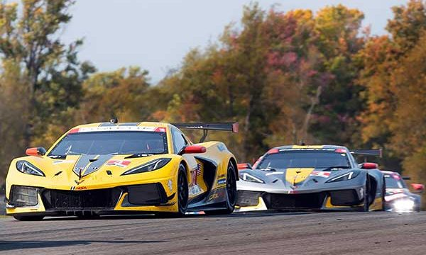 Garcia, Taylor Pace 1-2 Finish at Mid-Ohio for Corvette Racing