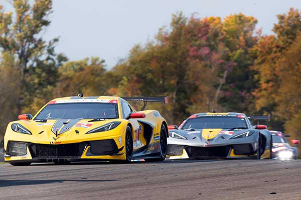 Garcia and Taylor won the fourth time this year in the IMSA WeatherTech SportsCar Championship with the Corvette C8.R at the GTLM at the Mid-Ohio Sports Car Course.