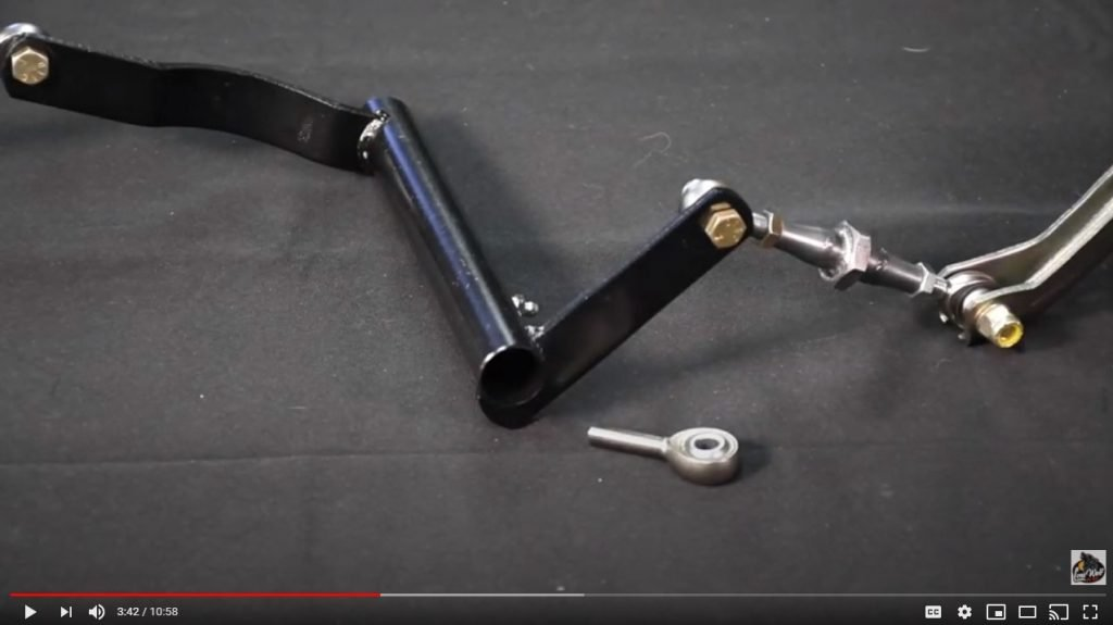 How to build a high quality, low friction rod end clutch linkage at home.