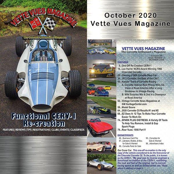 Vette Vues Magazine October 2020