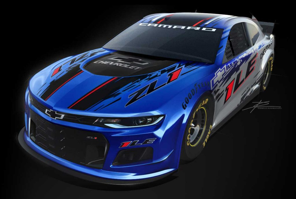 The Camaro ZL1 1LE is based on the fastest, most track-capable production Camaro ever will make its competition debut in the 2020 NASCAR season. The Camaro ZL1 1LE based on the fastest, most track-capable production Camaro ever – will make its competition debut in the 2020 NASCAR season.