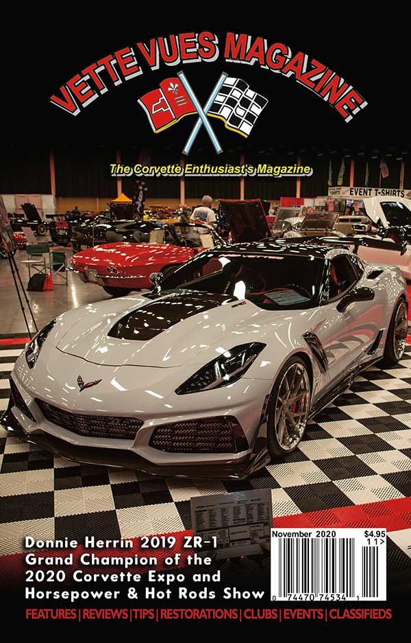 Corvette of Vette Vues Magazine November 2020 Issue