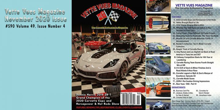 November 2020 Issue Preview