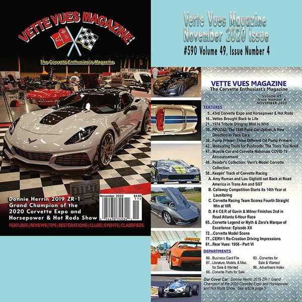 Vette Vues Magazine November 2020 Issue