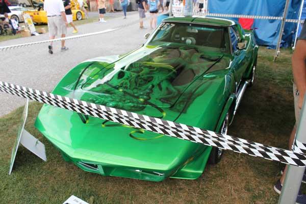 Harold Atkins's 1970 Custom Corvette