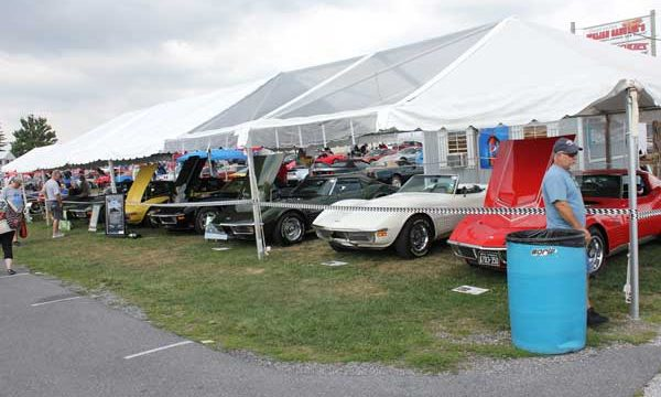 1970 Corvettes 50th Anniversary Display at Corvettes at Carlisle 2020