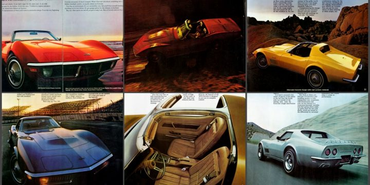 1970 Corvette Historical Brochure
