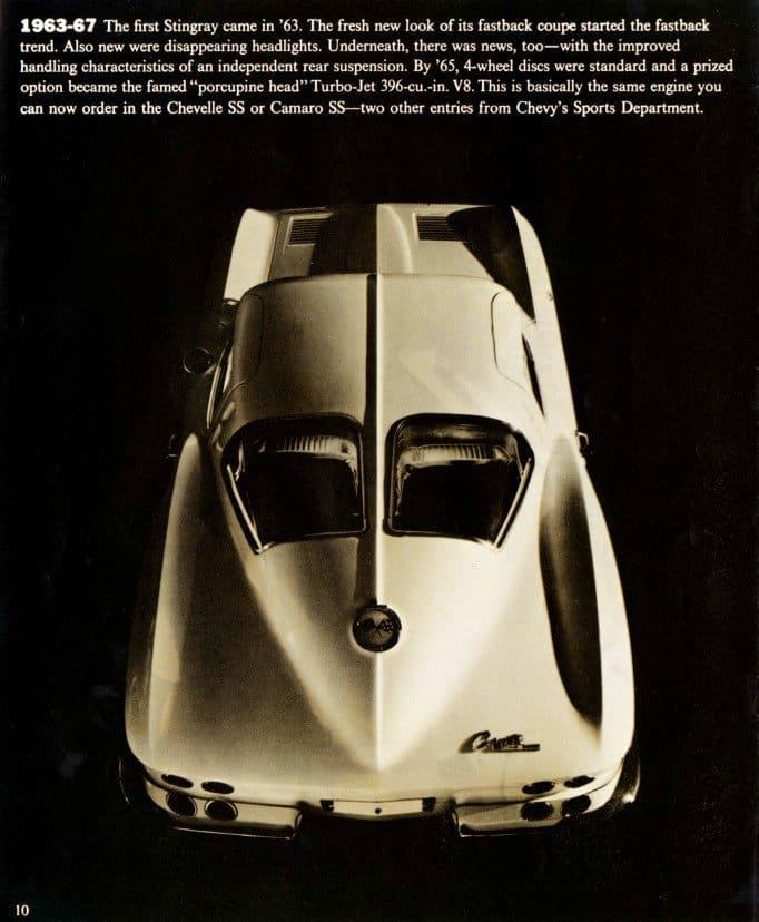 1970 Corvette Brochure Page 10
