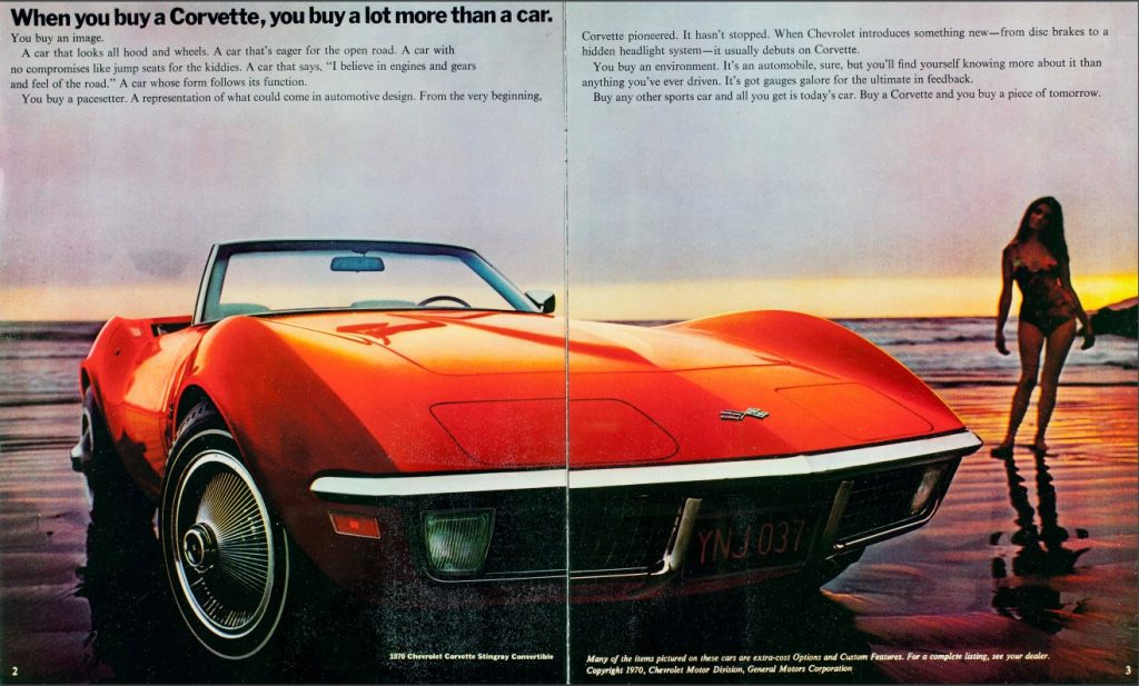 When you buy a Corvette, you buy a lot more than a car- you buy an image.