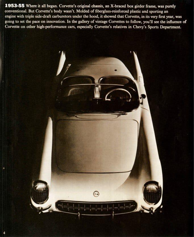 1970 Corvette Brochure Page 4