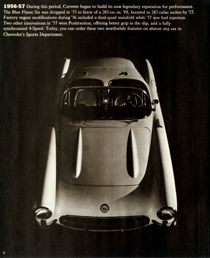 1970 Corvette Brochure Page 6