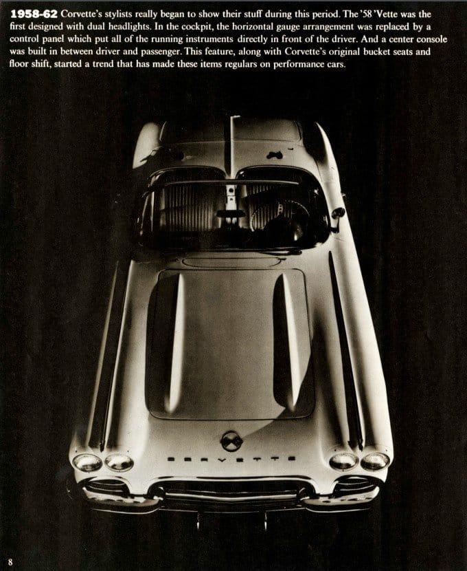 1970 Corvette Brochure Page 8