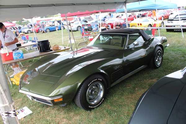 Henry Weinkel Donnybrooke Green 1970 Corvette Convertible