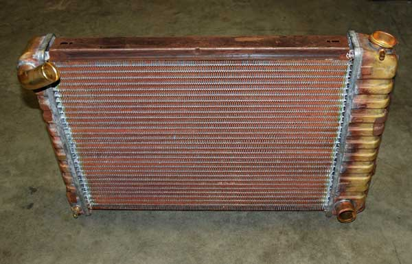 It is still possible to purchase copper-brass radiators today.  Well-constructed examples can prove to be expensive (the price tag was $1200 for this Camaro example).  Unfortunately, these don't cool as well as a well-engineered aluminum rad.
