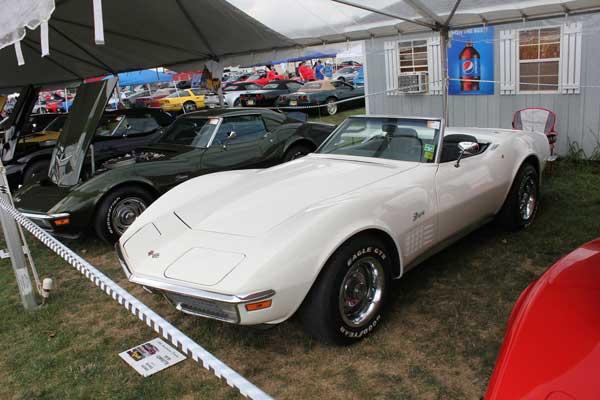 Michael Kromer's Classic White 1970 Corvette Convertible