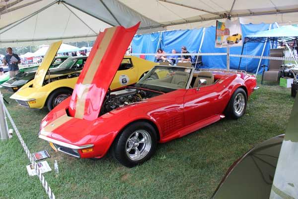 Calvin Weller's 1970 Corvette Convertible