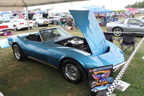 Rita Leary-Bullard's 1970 Corvette Convertible
