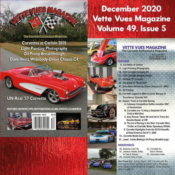 Vette Vues Magazine December 2020 Issue