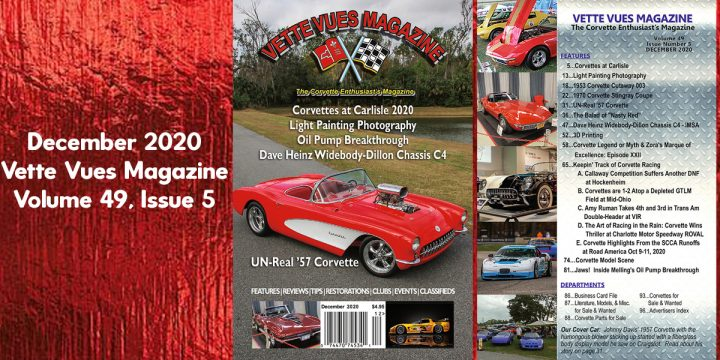 December 2020 Vette Vues Magazine Issue Preview