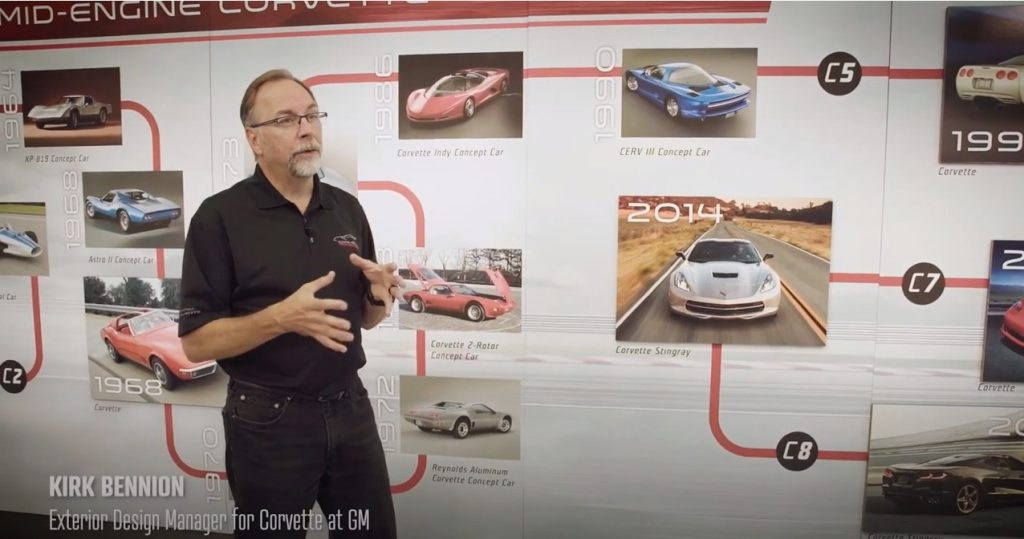 Kirk Bennion: Exterior Design Manager for Corvette at GM