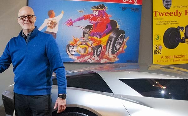 Tom Peters - Retired GM Design Chief - Joins National Corvette Museum Team