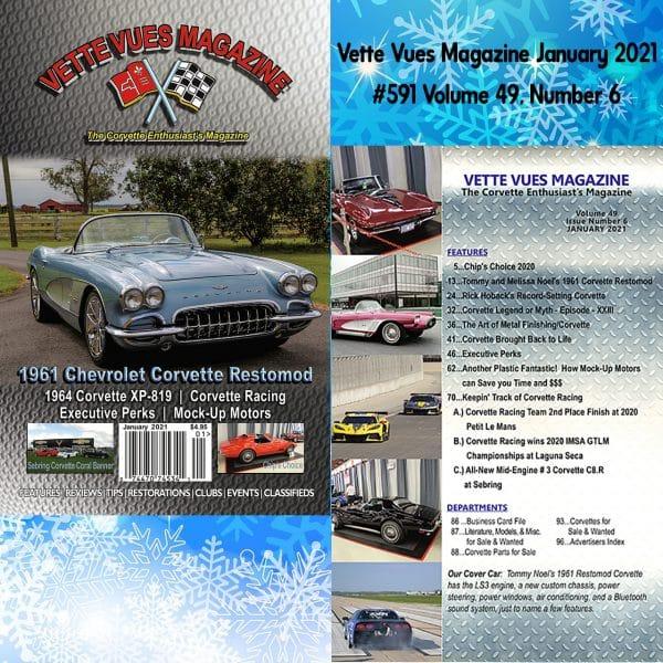 Vette Vues Magazine January 2021 Issue