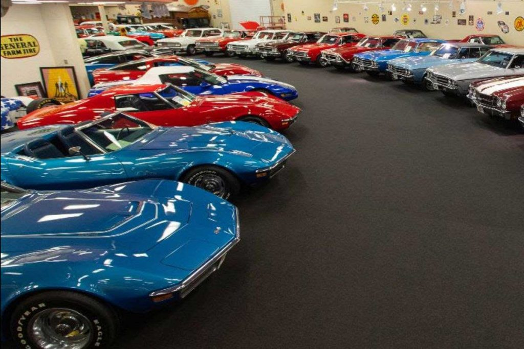 The Muscle Car City museum originally opened in a former Walmart in Punta Gorda but later moved to its current location — previously a Sweetbay Supermarket — in the Seminole Lakes Plaza.