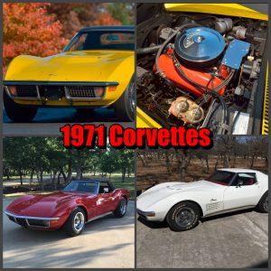 1971 Corvette to Celebrate the 50th Anniversary