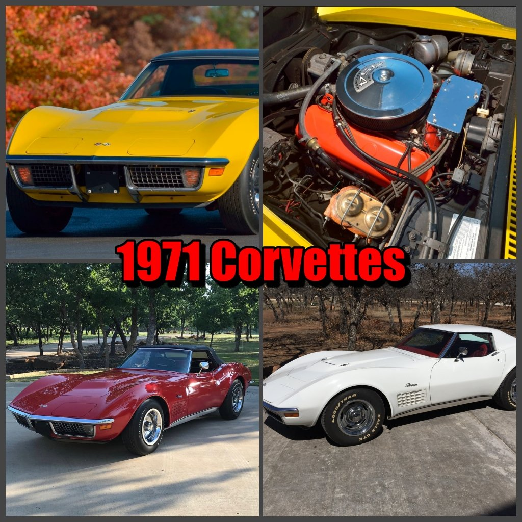 1971 Chevrolet Corvettes