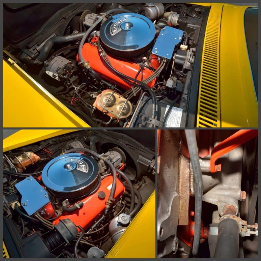 1971 LS6 Corvette Convertible Original matching numbers LS6 454/425 HP engine.