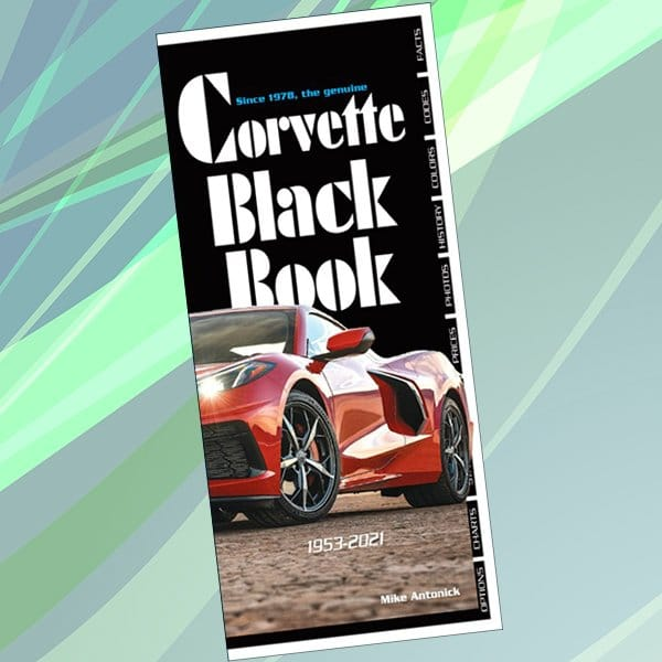 The Corvette Black Book 1953-2021 edition has the 2021 intro data and final 2020 build numbers.