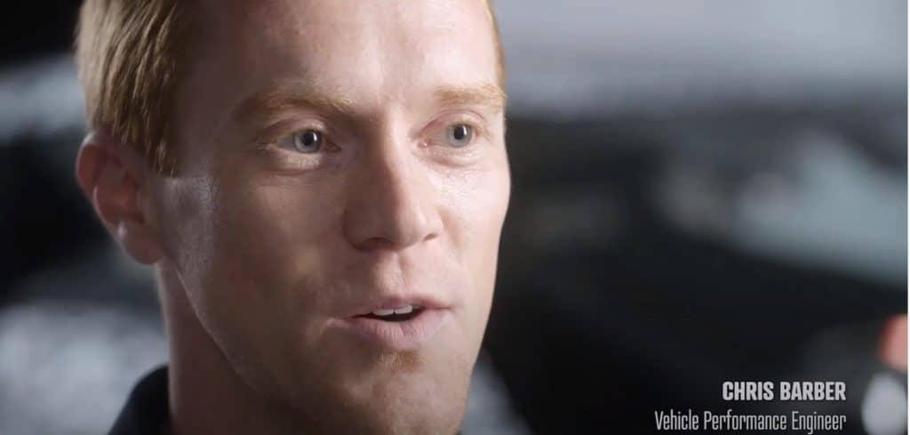 Chris Barber - Vehicle Performance Engineer