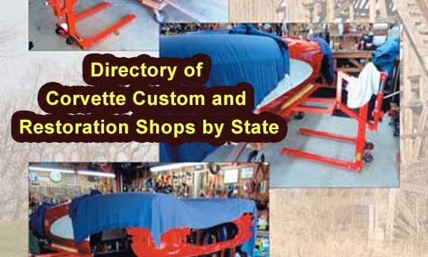 Corvette Custom and Restoration Shops