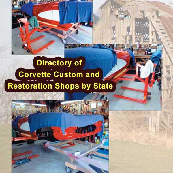 Corvette Custom and Restoration Shops
