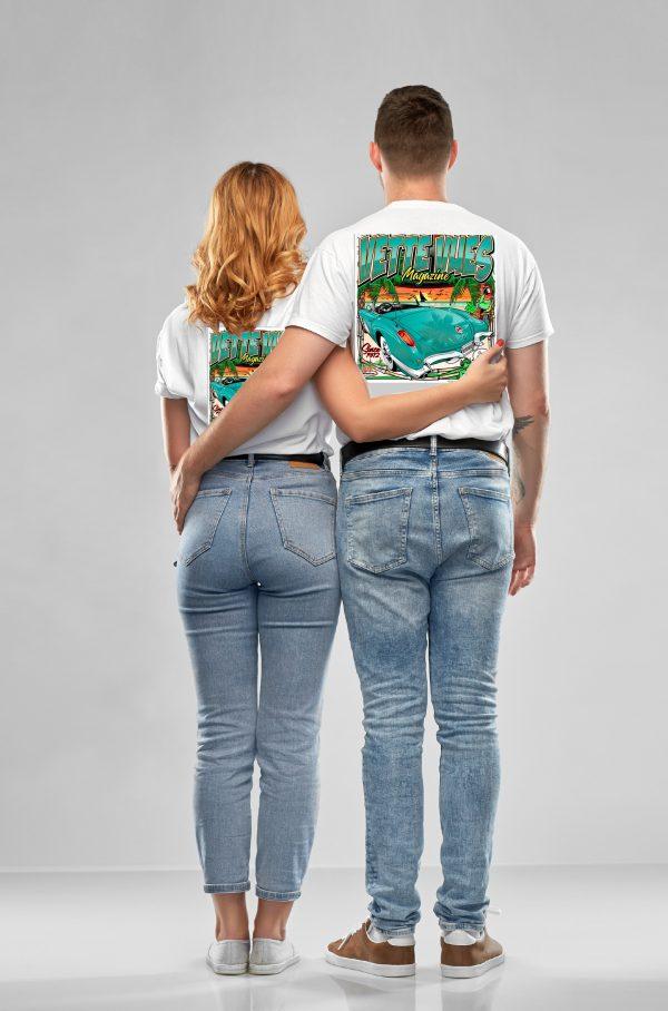 Vette Vues Corvette T-Shirt for men and women.