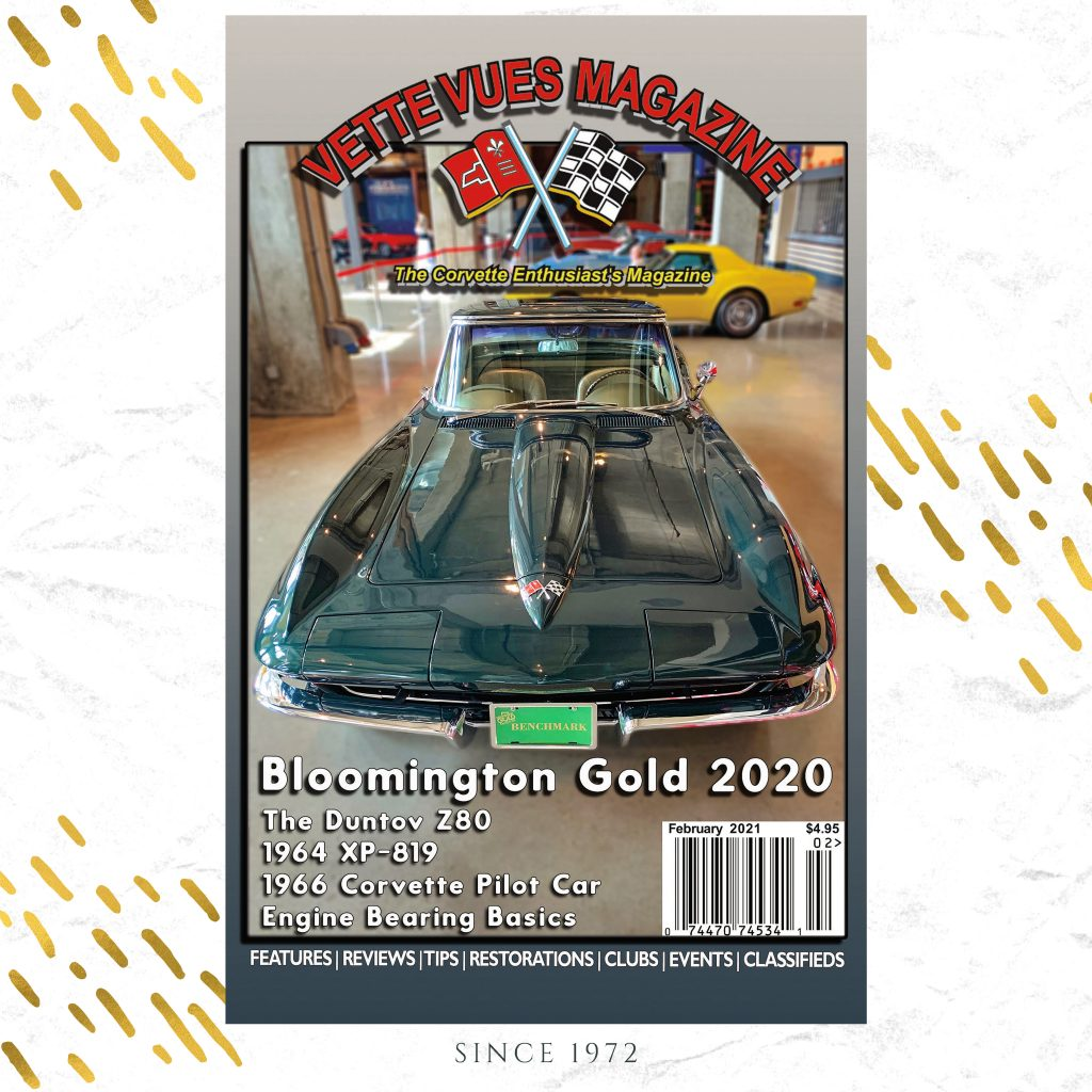 February 2021 Vette Vues Magazine Issue Preview
