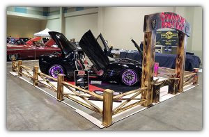 """K. Scott Teeters wrote an article that appeared in the December 2020 issue of Vette Vues Magazine in which he interviewed Roger """"Red"""" Eldor and Paula """"Trigger"""" Lawson-Eldor and got the story behind their stunning 2009 Corvette and their Cowboy Up display."""