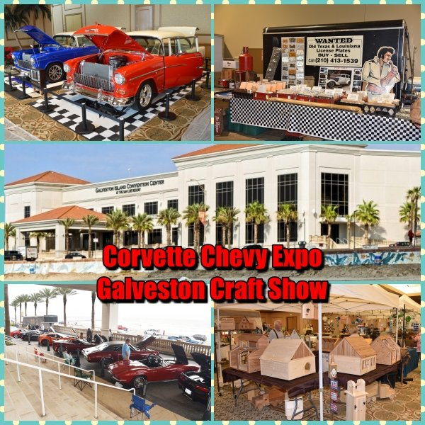 Corvette Chevy Expo and Galveston Craft Show Store