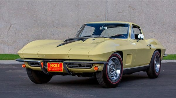 1967 Corvette L88 Coupe sells for $2,695,000 at Mecum Glendale Auction