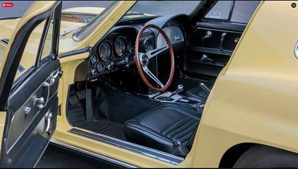 1967 L88 Corvette Interior