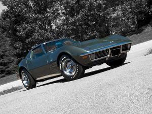 Total Production = 21,801 (14,680 Coupe, 7,121 Convertible) 1971 Corvette Stingray Coupe owned by Wilton Levers Photo Copyrighted by Clive Branson