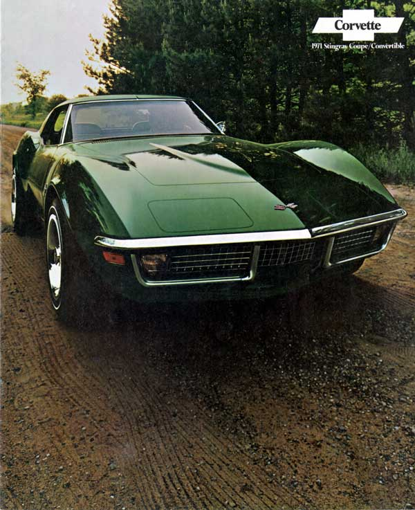 1971 Corvette Brochure Cover