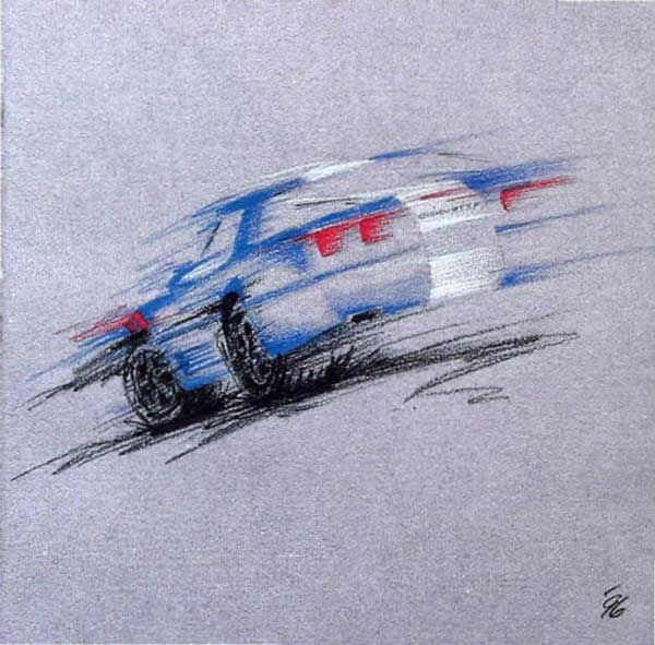 1996 Corvette Brochure Cover