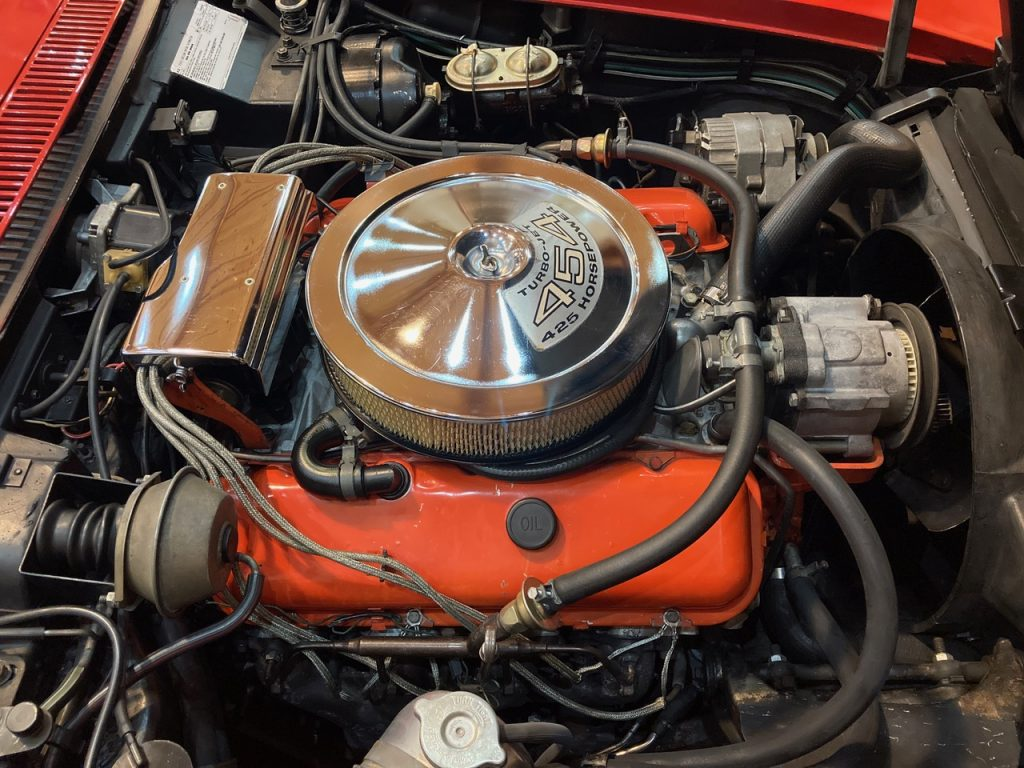454/425 HP LS6 Engine Photo Credit: Guy & Helen Mabee
