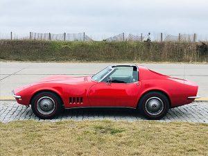 1968 Corvette Side View