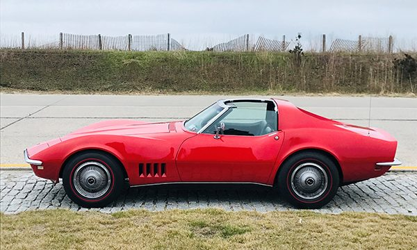 "1968 Chevrolet Corvette Named ""SURVYVR"""